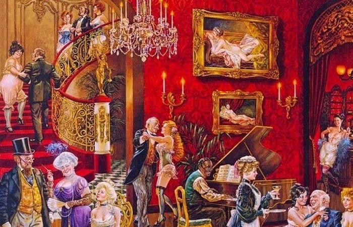 Пикантные подробности истории: Как работали дома терпимости в Российской империи./ Фото: libraries.io