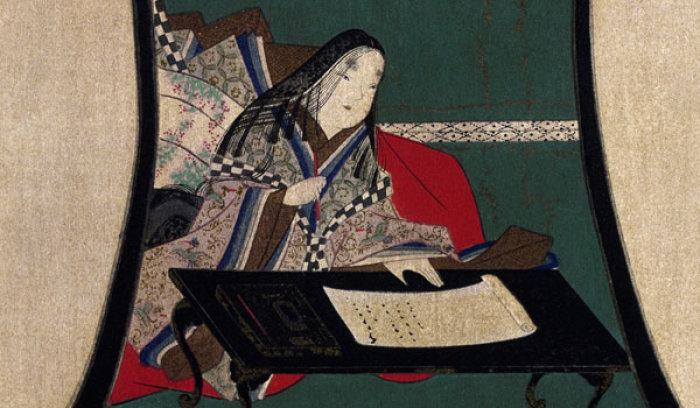 Японские мужчины знали о существовании женского письма и умели его читать
